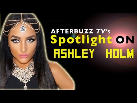 Ashley Holm Interview | AfterBuzz TV's Spotlight On