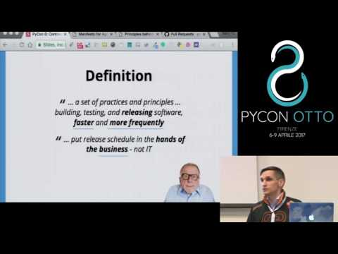 Image from Continuous Delivery for Python Developers