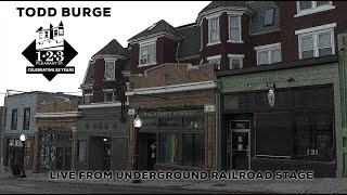 Todd Burge live from the Underground Railroad Stage -