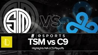 Highlights: TSM vs C9 (NA LCS Summer Playoffs Finals)