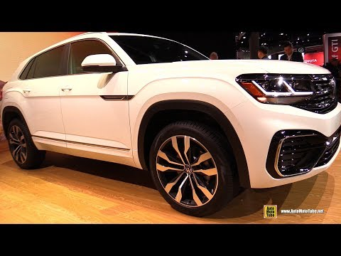 2020 Volkswagen Atlas Cross Sport - Exterior Interior Walkaround - Debut at 2019 LA Auto Show