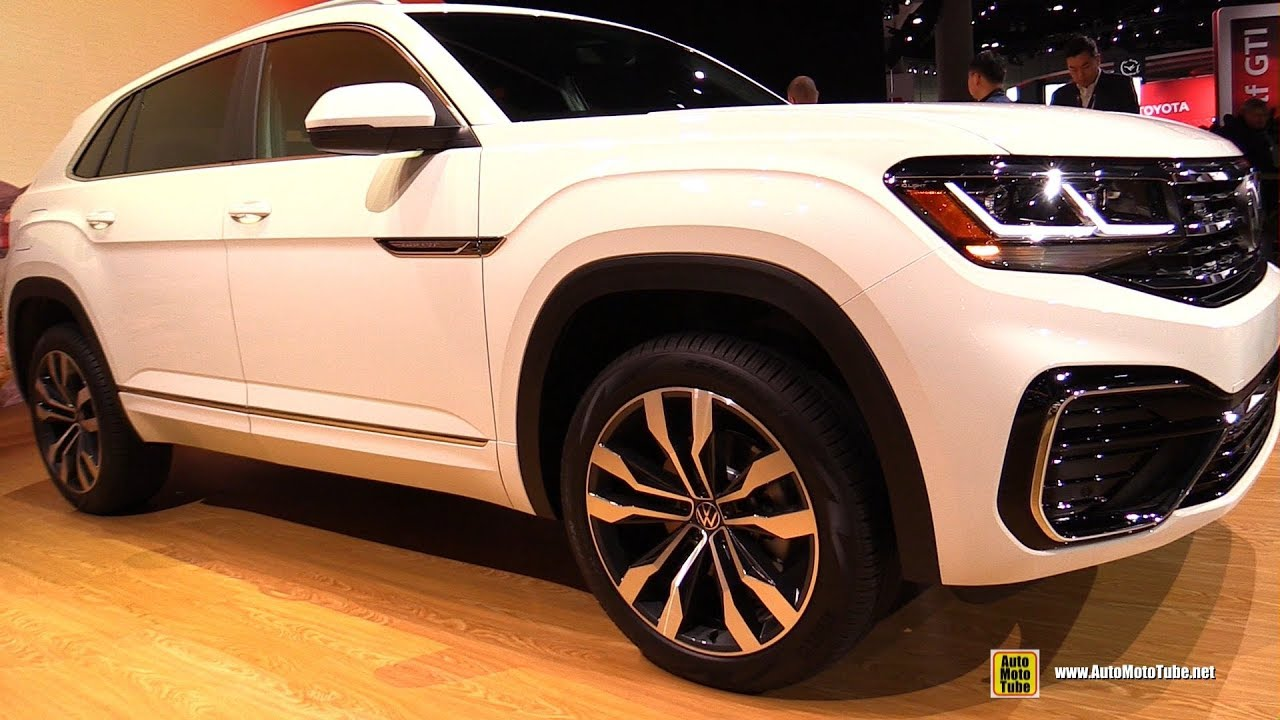 2020 Volkswagen Atlas Cross Sport Exterior Interior Walkaround Debut At 2019 La Auto Show