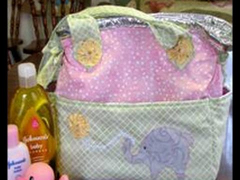 Pearl Krush Updates A Basic Diaper Bag By Adding Insulation On Its