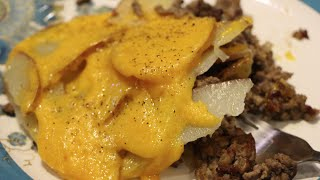 HAMBURGER/ WORLDS BEST CHEESY HAMBURGER CASSEROLE RECIPE/CHERYLS HOME COOKING/ EPISODE 479