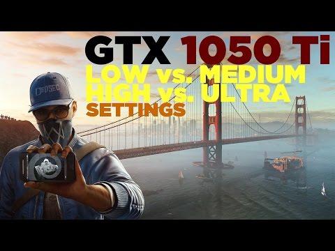Watch Dogs 2 | i5 2500 | GTX 1050 Ti | Low vs. Medium vs. High vs. Ultra Settings | 1080p