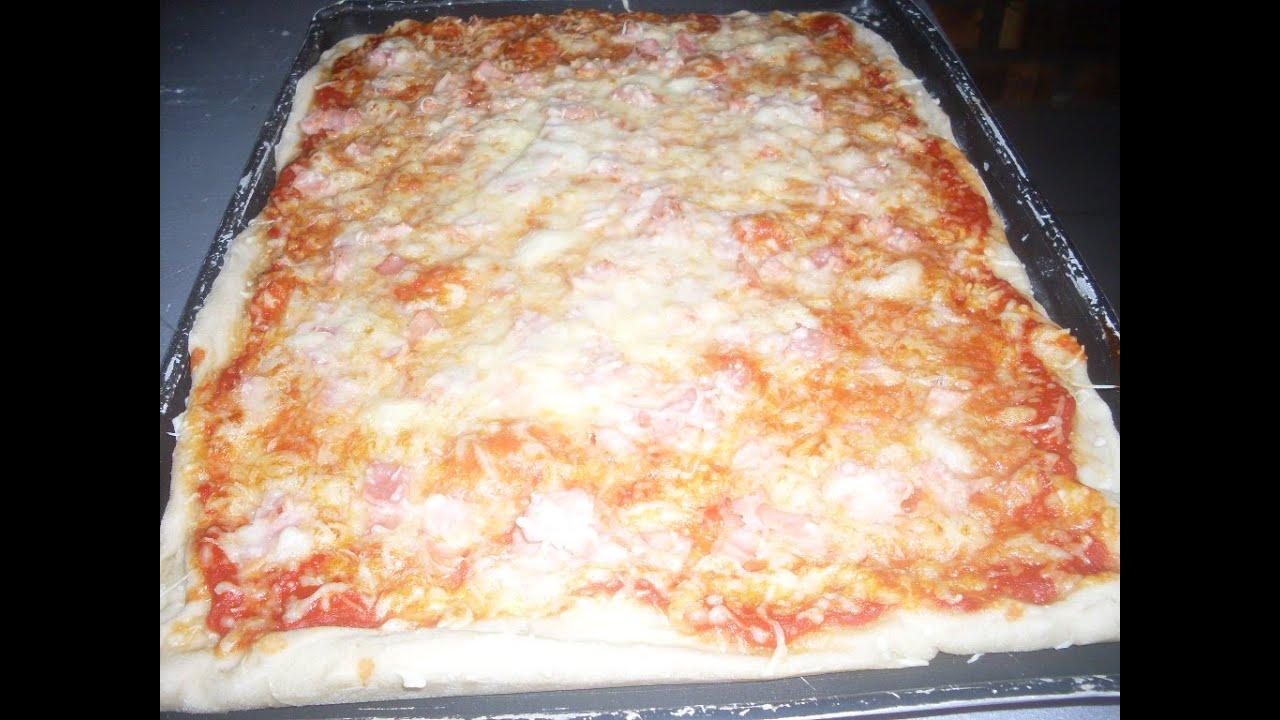 comment faire une savoureuse pizza au jambon et au fromage facilement