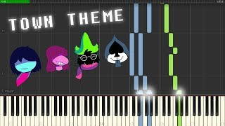 Delta Rune Ost A Town Called Hometown Piano Synthesia Sheets.mp3
