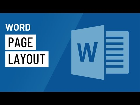 Word 2016: Page Layout