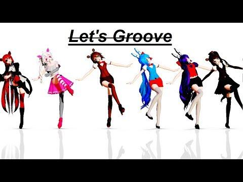 【MMD x FNAF】Let's Groove