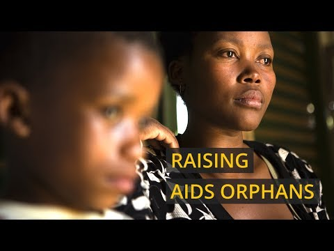 A South African woman's struggle to raise six AIDS orphans