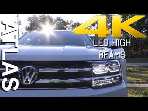 New Review - LED HIGH & LOW BEAM HEADLIGHTS - 2018 VW ATLAS S, SE, SEL & Premium / R-LINE