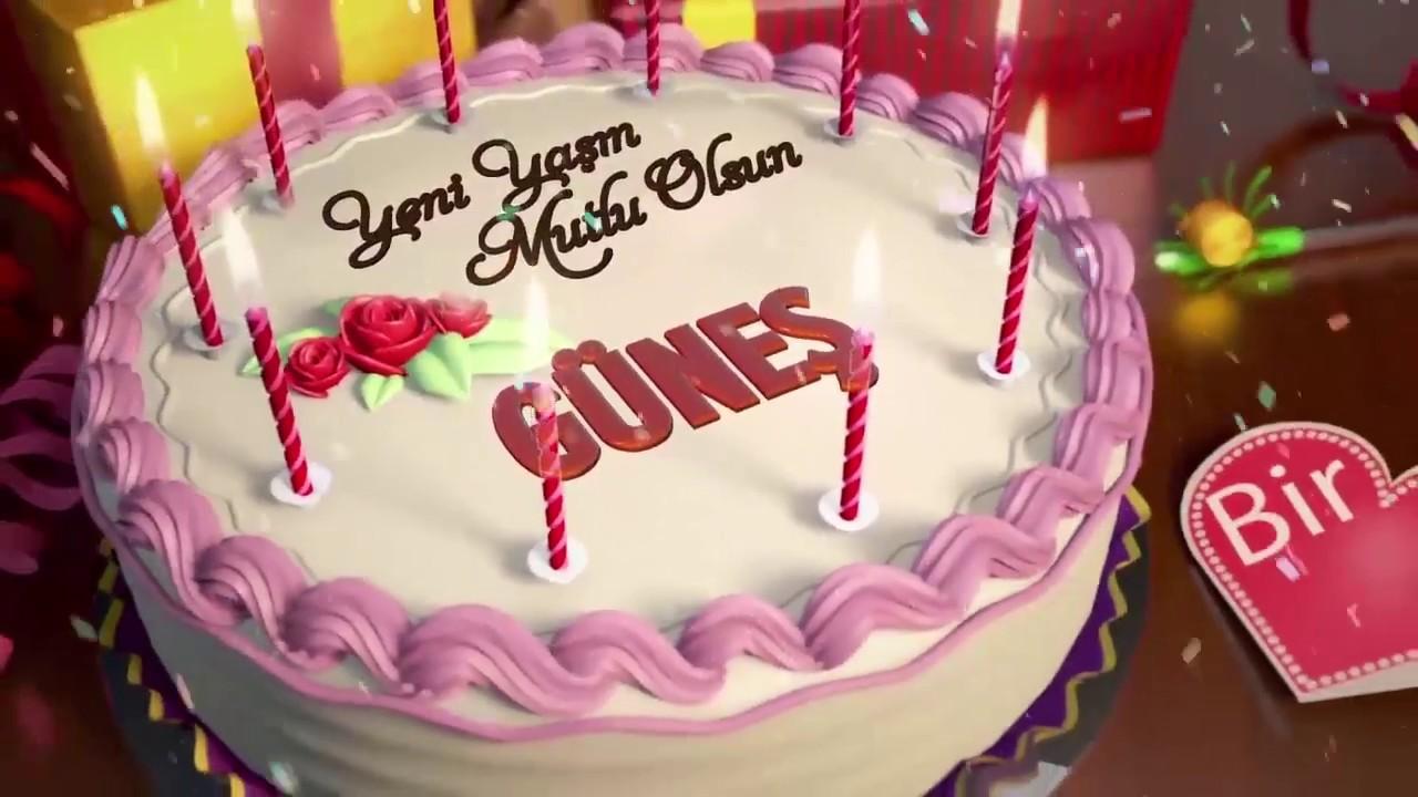 İyi ki doğdun GÜNEŞ - İsme Özel Doğum Günü Şarkısı