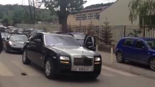 Albanian Mafia BOSS Wedding Supercar Parade