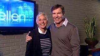 Memorable Monologue: Dennis Quaid in Ellen's Ear