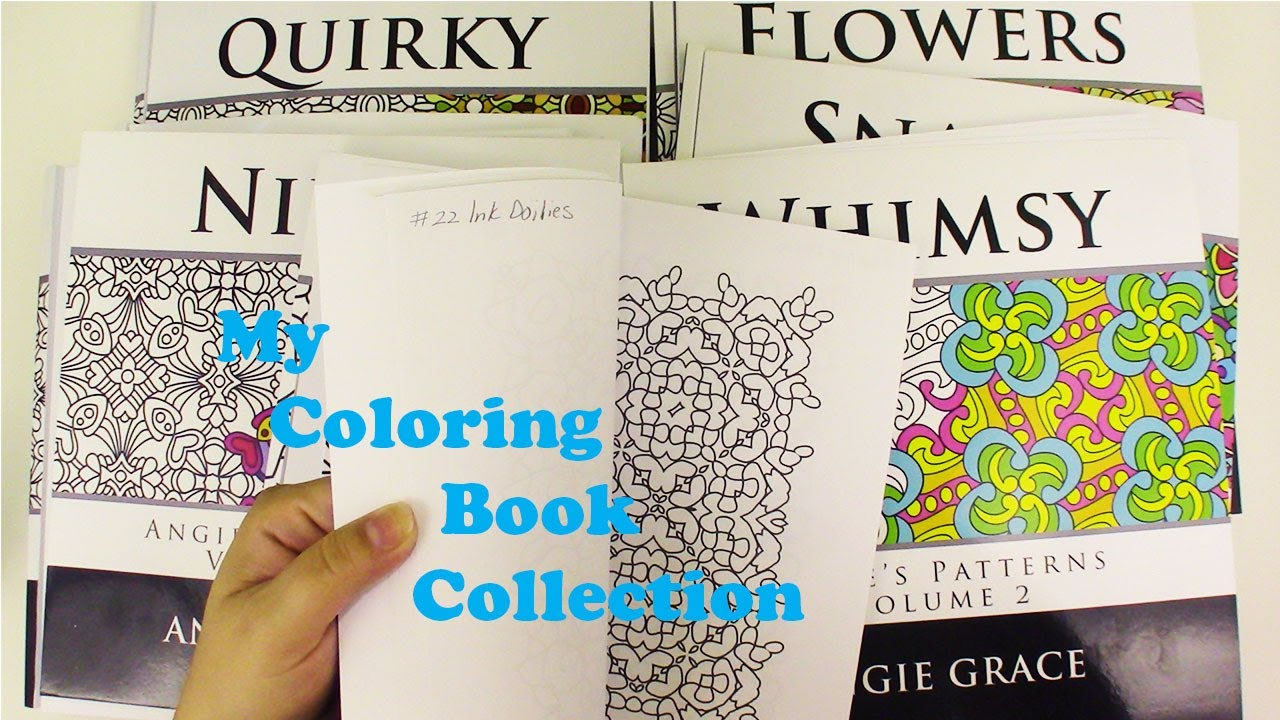 My Angie Grace Coloring Book Collection