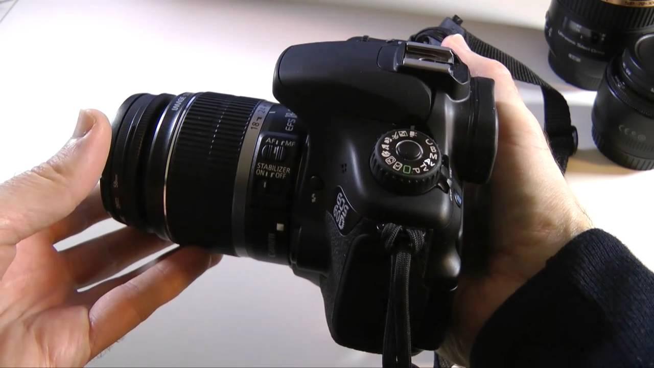 Canon EOS 60D Digital SLR Camera Full Review - YouTube