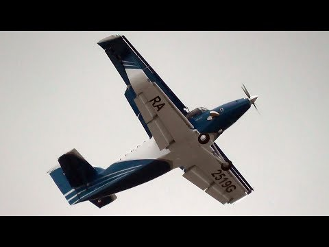 New Antonov An-2MC (TBС-2DT) Extreme STOL & Slow Flight Demonstration @ MAKS Moscow Airshow