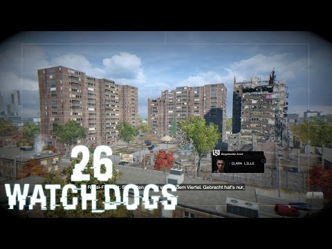 #26 • WATCH DOGS - Brick Mansions ▬ Let's Play WATCH_DOGS [German|PC|Blind]