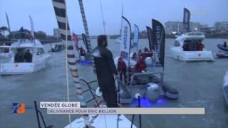Vendée Globe : délivrance pour Eric Bellion