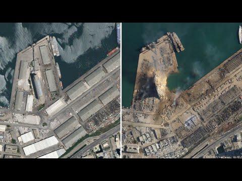 Satellite images show