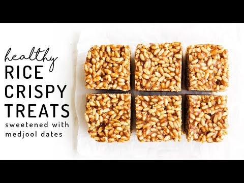 Date-Sweetened Rice Crispy Treats {vegan & gluten-free}