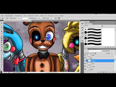 [SpeedPaint] New and Shiny (Five Nights at Freddy's 2)