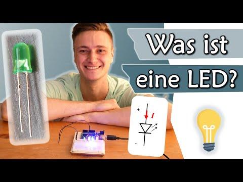 Was ist eine LED? Aufbau und Funktionsweise Leuchtdiode | Elektronik #3