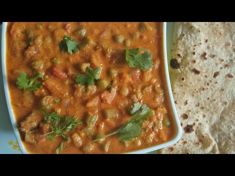 Hotel Style Vegetable Kurma Recipe In Kannada / How To make Vegetable Kurma in Kannada