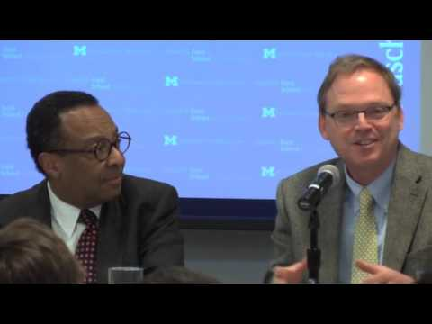 .@fordschool - Legacies of the War on Poverty, lessons for the future: panel