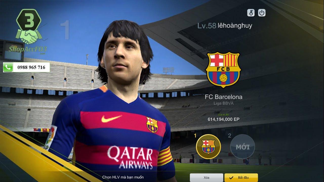 Mua Bán Acc Fifa Online 3 | GTĐH 615Tr | 2Tr EP Trắng | Giá 450K |  Shopaccfo3.com - YouTube