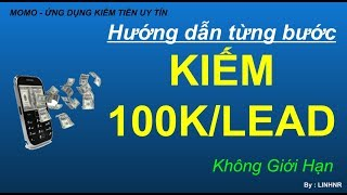 Ví momo - Hướng dẫn kiếm tiền A-Z (100k/5 phút)