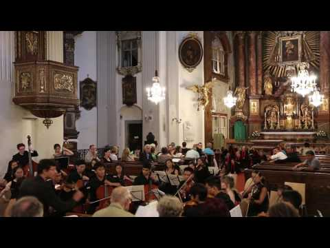 Symphony  No. 33 3rd, Mozart, Colburn Youth Orchestra Europe Tour 6/29/2016