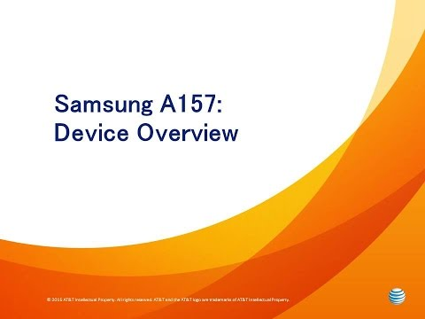 Samsung A157: Device Overview