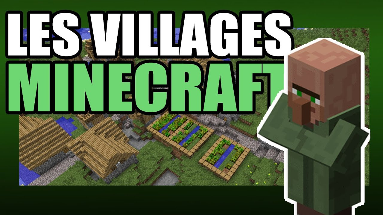 Minecraft les villages de pnj youtube minecraft les villages de pnj publicscrutiny Choice Image