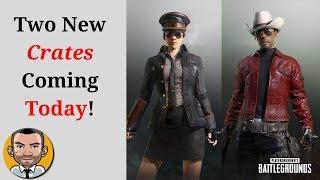 PUBG - 2 New Crates (Fever, Militia) Coming Today!