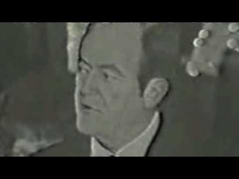 "MLB1949 ""VP Hubert Humphrey Concedes 1968 Election to Richard Nixon"""