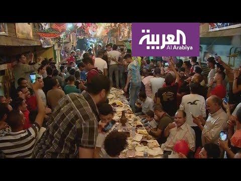مائدة واحدة تجمع كل أهالي حي شعبي مصري  - نشر قبل 1 ساعة