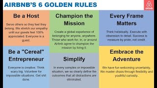 Gambar cover AirBnb 6 Golden Rules via Brian Chesky