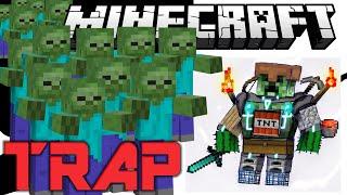 minecraft pvp trap the mob flooder
