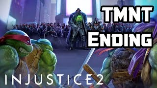 TMNT INJUSTICE 2 ENDING TURTLES - SHREDDER AND KRANG AMAZING!!! PS4/XBOX ONE