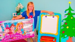ASSISTANT  Princess and Finding Dory ART Kit BJ's Wholesale Club Top Ten Holiday List Video