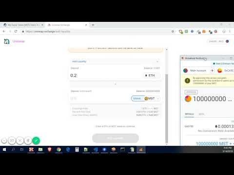 How To List Your Custom ERC20 Token To Uniswap Exchange