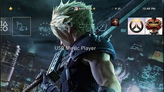 Final Fantasy VII Remake Cloud & Sephiroth Dynamic Theme PS4