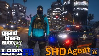 Strategic Homeland Division Patrol In A Jeep Grand Cherokee | GTA 5 LSPDFR Episode 522