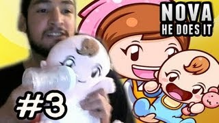 DONT SHAKE THE BABY - Babysitting Mama Pt.3 FACECAM ⇐ Nova He Does It ⇒