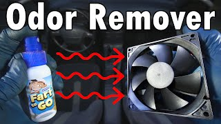 DIY Odor Remover (For Your Car)