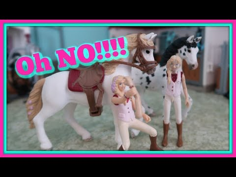 🐴New Schleich Horse Video!😰What Happened to Hannah!?😰Customizing Schleich Horses! 💖FIRST DAY TV