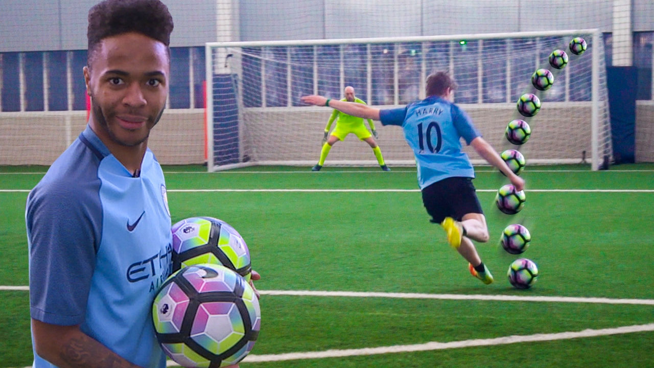 football challenges vs man city youtube