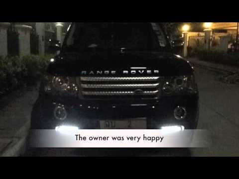 Range Rover Install Dayrunnong Light Youtube