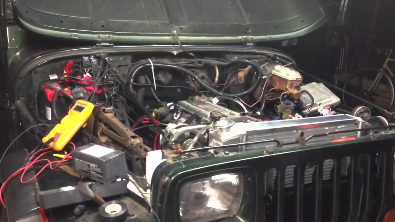 Lt1 Swap Headers Wiring Diagrams Harness Jeep Wrangler Yj V8 Youtube 3rd Gen